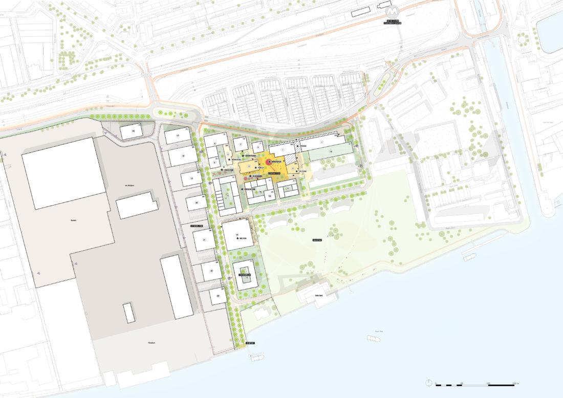 06 SFNR Distict U Plankaart mogelijke invulling District U