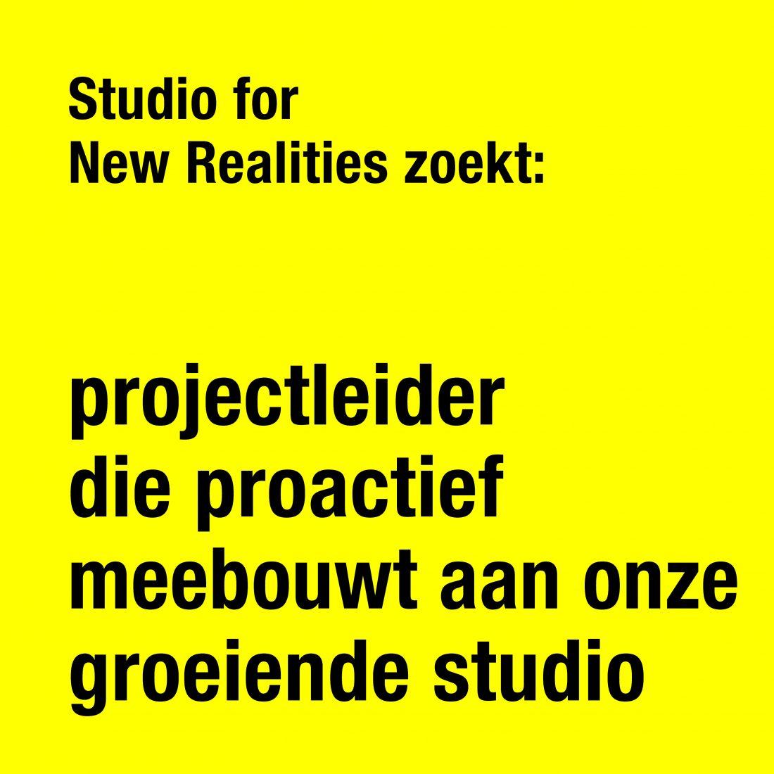 210601 Projectleider NL helderder geel