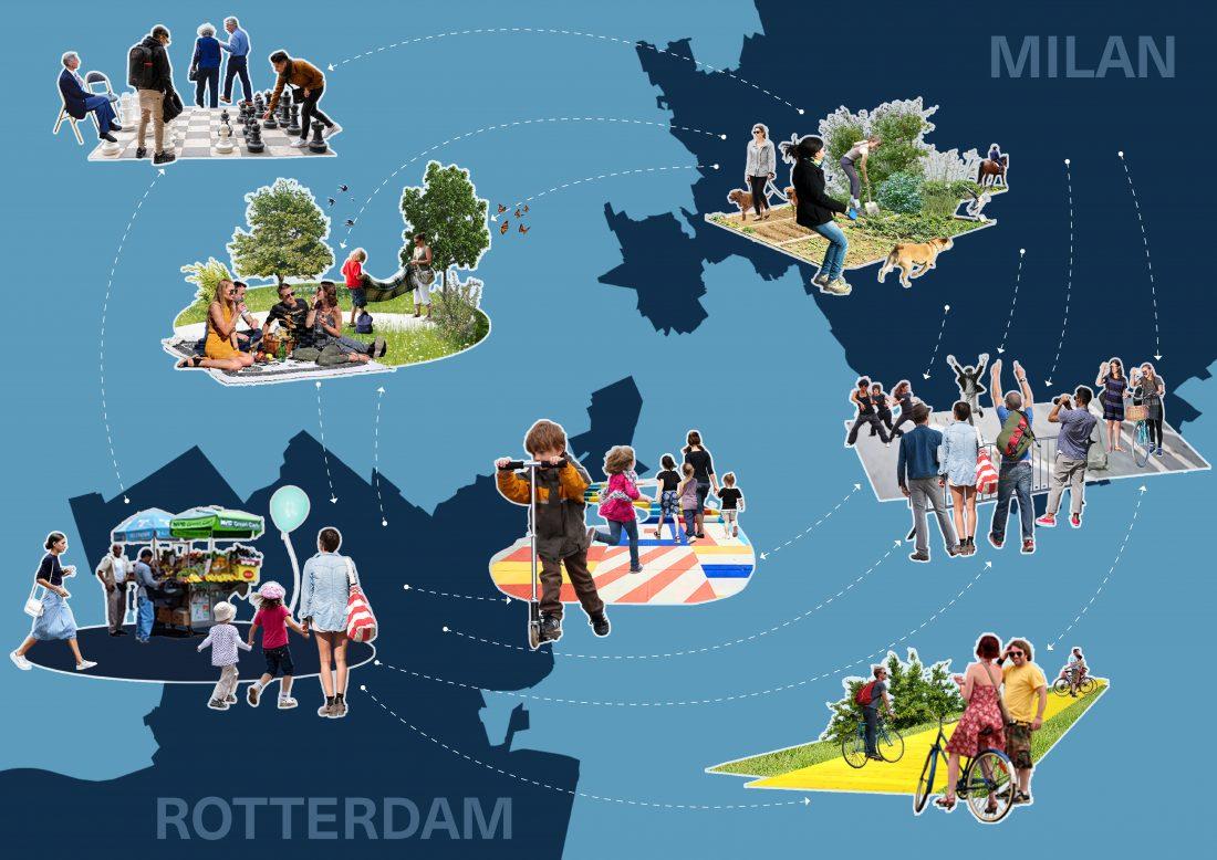 210914 Rotterdam Common Space Collage Portrait