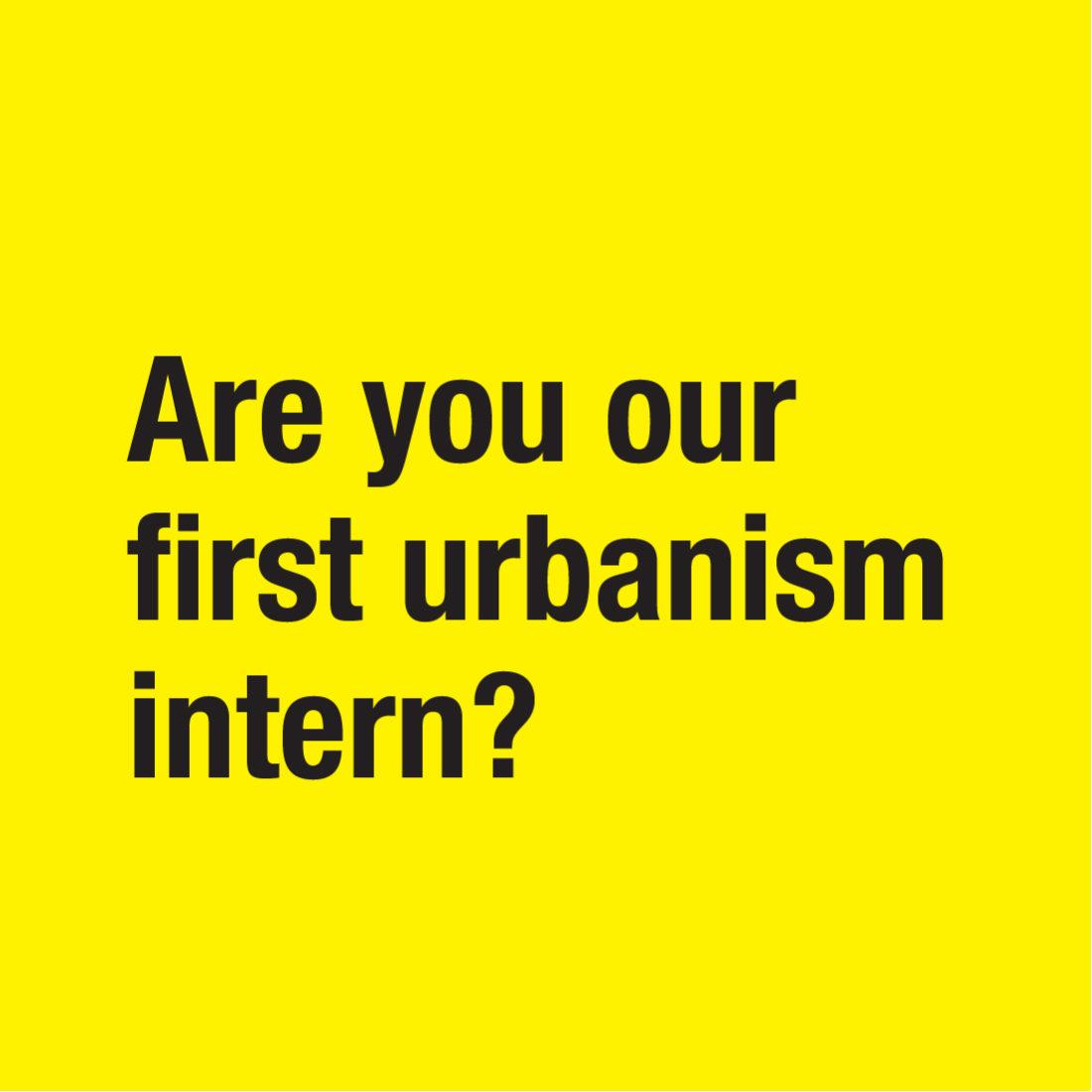Urbanism intern 01